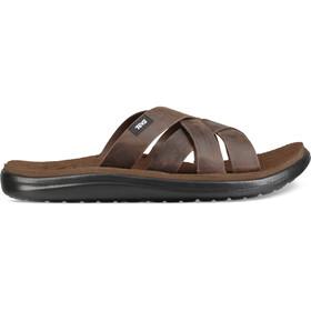 Teva Voya Slide Leather Sandals Men carafe